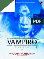 Vampiro - A Máscara - Companion (Guia Suplementar) - Oficial Galápagos