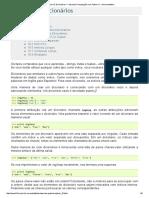 Capítulo 10_ Dicionários — Aprenda Computação Com Python v1