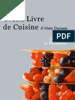 Alain Ducasse-Desserts Et Patisseries