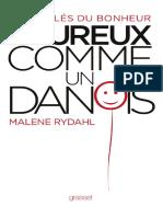 Heureux comme un Danois - Malene RYDAHL (1)
