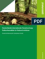 Schutzgebiete für Buchenwälder