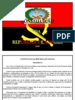 Constituição de República de Angola