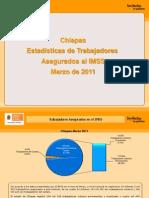 Estadisticas IMSS Marzo 2011