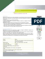 EMFI PU 40FC TDS