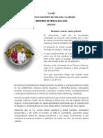 PROPUESTA DE ORACIÓN Y ALABANDA DUO SAN JUAN