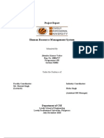 Final Report HR Management