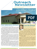 Outreach Newsletter Spring 2011