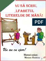 Vreau Să Scriu. Alfabetul Literelor de Mână - Copie