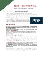 (DPH 2021) [CFO] Módulo I - Doutrina Militar