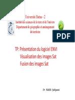 Visualisation Et Fusion Des Images Sat