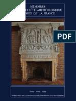 L'or des Tectosages, la question des dépôts d'or celtes en milieu humide et l'énigme des « lacs sacrés » dans la ville gauloise de Toulouse Tolossa