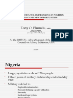 INVESTMENT FINANCE AND BANKING IN NIGERIA