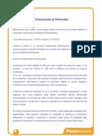 Comunicato Aziendale Su Accordo Rinnovo Ccnl