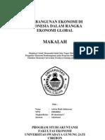 Makalah - Pembangunan Di Indonesia Dalam Rangka Ekonomi Global