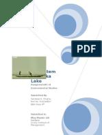 Ecosystem of Chilka Lake