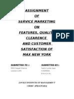 Max Nw York Service Marketing