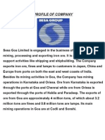 Sesa Goa Limited