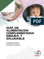 Guia para Alimentación Complementaria -  Ministro de Salud de la Provincia de Santa Fe (1)