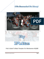 Black Templars - Frtiz guide