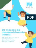 E-book Os Marcos Do Desenvolvimento Infantil (1)