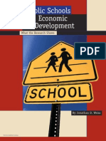 Public Schools and Economic Development