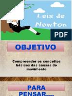 Aula 005 Primeira e Teceira Lei de Newton