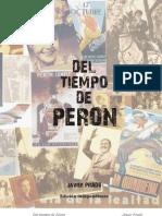 Del tiempo de Perón