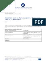 Thymus-vulgaris-Thymus-zygis-aetheroleum-HMPC-Assessment-Report