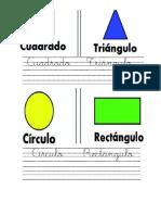 Las Figuras Geometricas 1 Hoja