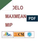 MODELO MAXMEAN MIP