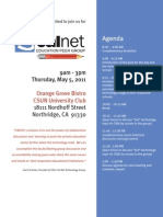 Cal Net Education Peer Groups Events