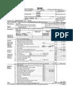 Obama's  2011 Tax Return
