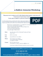 Sexual Recovery Institute Partner Workshop