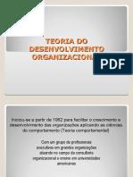 UNIDADE IV - Desenvolvimento organizacional - DO