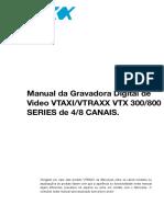 1080P VTRAXX Manual PORT. VTX 300800 Series