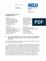 ACLU Taylor Demand Letter