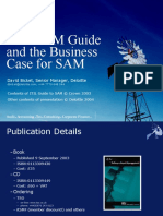 ITIL SAM Guide and the SAM Business Case - BCSCMSG 17 Mar 2004 v2