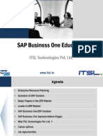 SAP Business One Education