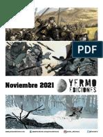 Novedades Yermo Noviembre 2021