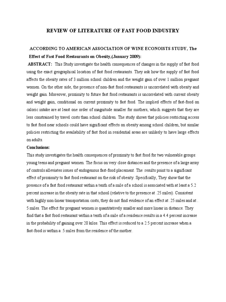 Research Essay Proposal Example Obesity Essays Conclusion Docoments Ojazlink Obesity Essays Conclusion  Docoments Ojazlink Fast Food  About English Language Essay also English Essay Books Fast Food Essay Conclusion Sample Practice Topic Fast Food Ppt Help  First Day Of High School Essay