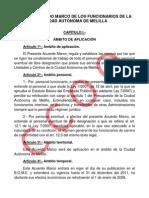 VIII Acuerdo marco