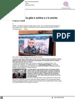 Cody Trip, la gita è online e c'è anche Piero Pelù - Cronachemaceratesi.it, 16 ottobre 2021