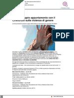 Urbino, doppio appuntamento con il cineforum sulla violenza di genere - Pesarourbinonotizie.it, 18 ottobre 2021