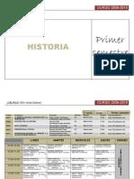 HISTORIA05-Horarioscurso2009-2010