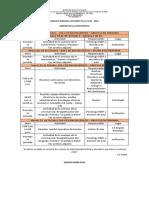 34. Agenda Semanal Octubre 19 Al 22 de 2021