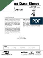 Soladyne 7470 Manual