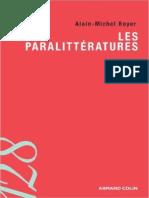 Alain-Michel Boyer -Les paralittératures - Jericho