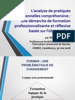 ALTET Observation Analyse Pratiques MAROC 30-05-2018