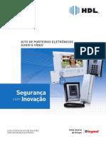 HDL - Interfone F9-S Siga-me - Catálogo