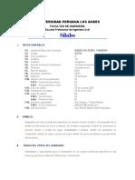 Silabus  Diseño en acero y Madera VIII-2020-II-VIRTUAL
